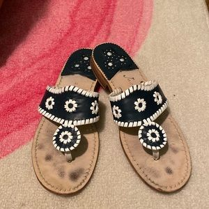 Navy and White Jack Rogers
